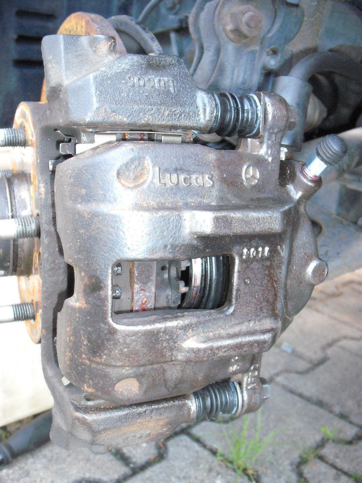 B Blesiya 1 Paar Auto Bremssattel Aufh/änger Haken F/ür Aufh/ängeachse Scheibenbremse